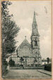 This lovely old postcard shows the Congregational Church when it was first built.